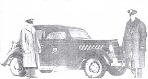 WPD 1938 Squad Car